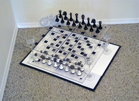 How To Build Make A 3d Chess Board Game With Your
