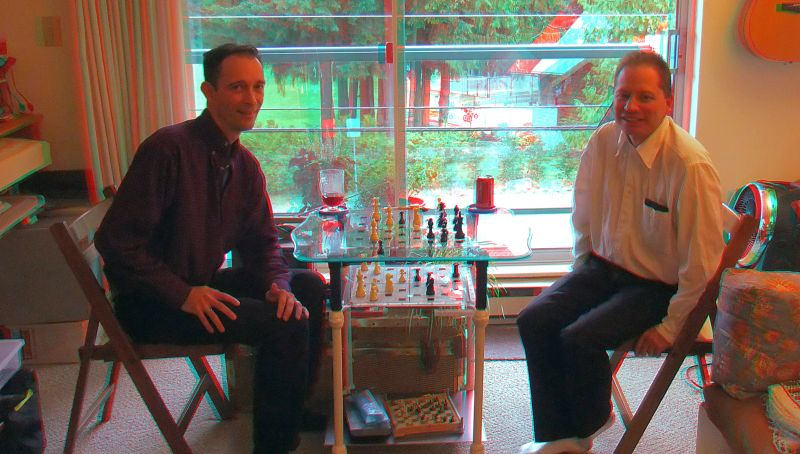 Paul Glover - Tony H. from Calgary (playing 3D Chess)