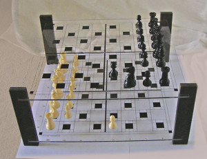 Black Pawn try's to Pass white's pawn on H5: Ag7 - Ag5