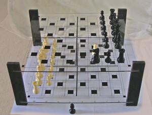 White Pawn: Bh5 x Ag5 (en passent)